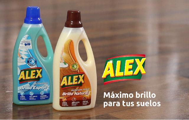 ALEX es una marca con una amplia experiencia en el cuidado de suelos que te aporta soluciones para limpiar, cuidar y proteger los suelos.